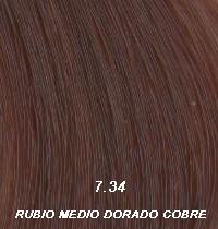 Nº7.34 Rubio Medio Dorado Cobre