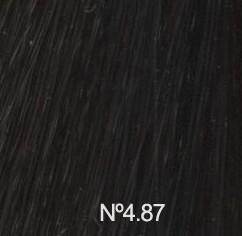 Nº4.87 Castaño Medio Marrón Perla