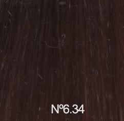 Nº6.34 Rubio Oscuro Dorado Cobrizo